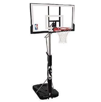Spalding Portable Basketball System 72307pr 52 Inch Acrylic Backboard This Picture Lifetime Basketball Hoop Portable Basketball Hoop Spalding Basketball Hoop