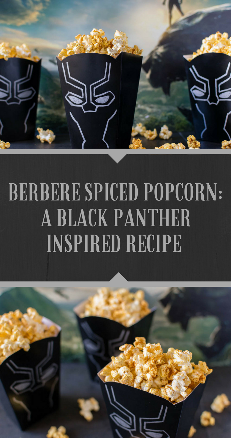 Berbere Spiced Popcorn A Black Panther Inspired Recipe Inspired
