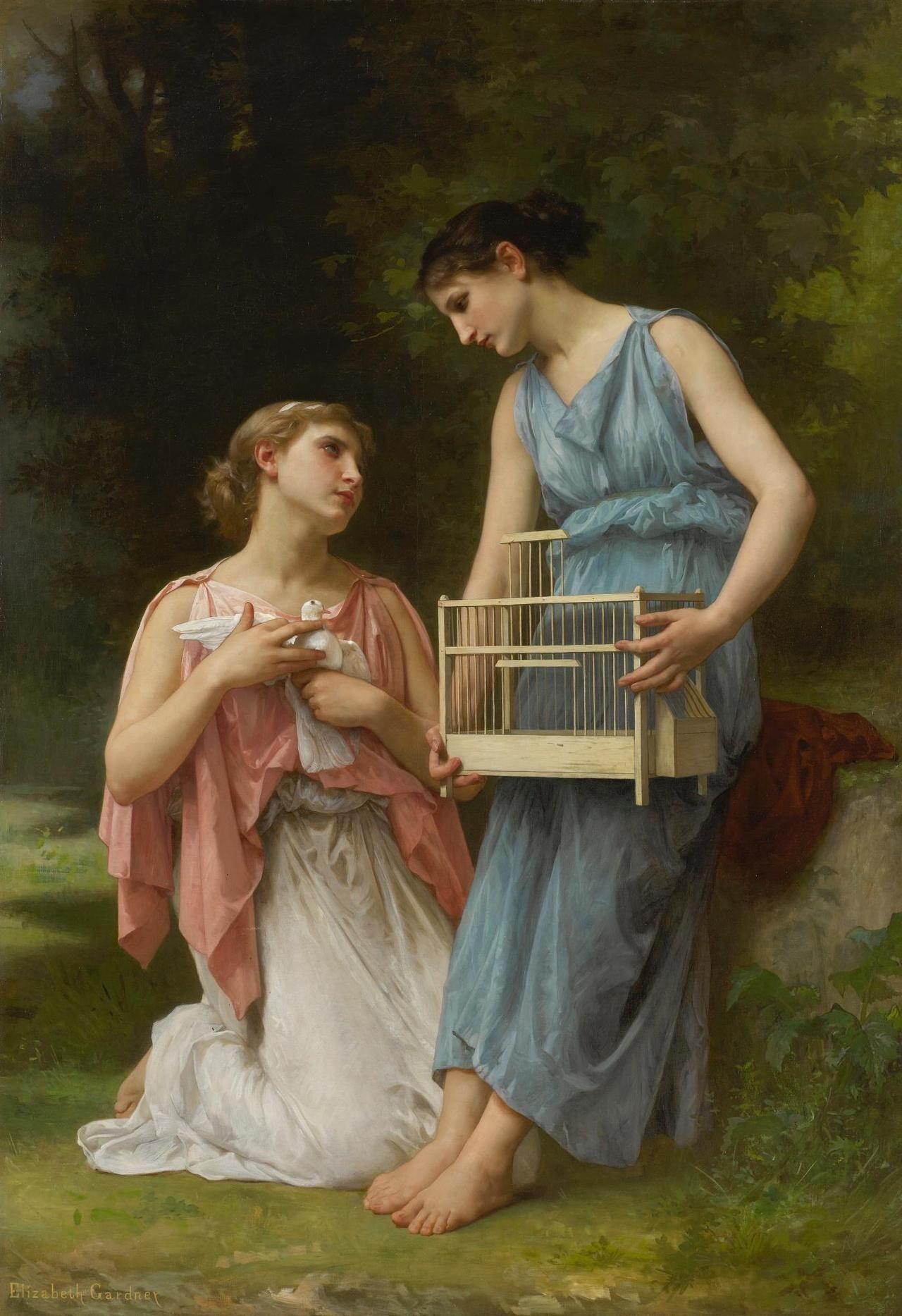 La Captive by Elizabeth Jane Gardner Bouguereau (American, 1837 ...