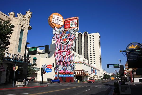 Northern Nevada Casino Photo Of The Day Circus Circus Reno Opened July 1 1978 Riverside Hotel Reno Reno Nevada