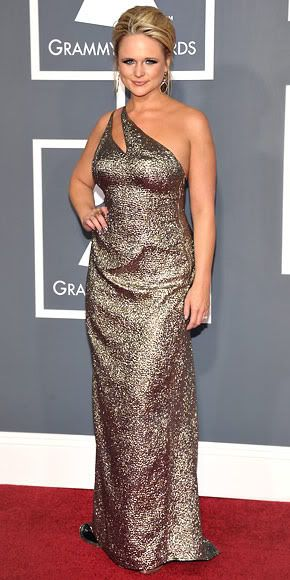 Miranda Lambert 2011 Grammys #celebrities #celebrityfashion #redcarpet
