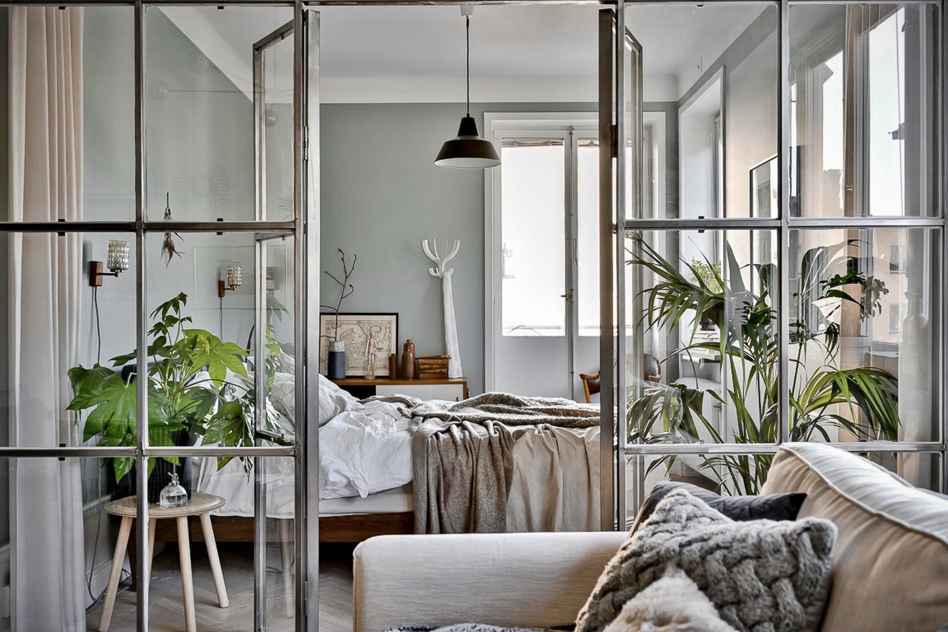 Early blue morning in a Swedish apartment – PLANETE DECO …