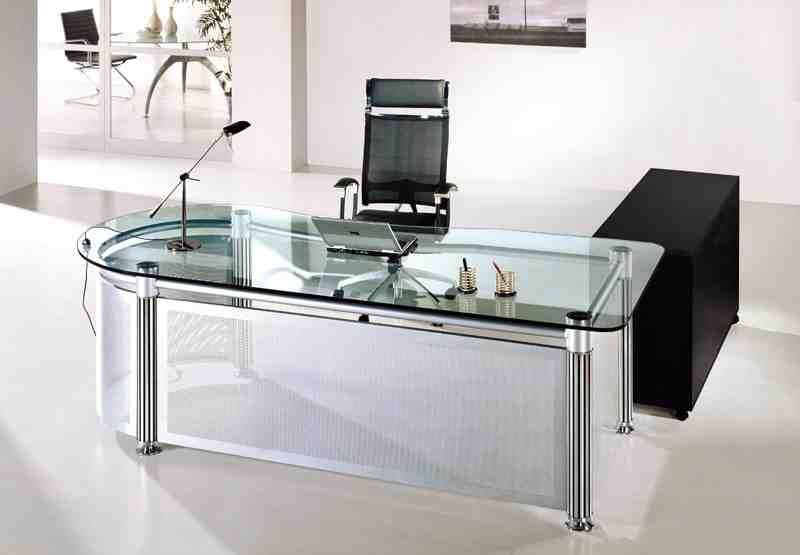 Glass Office Table Glass Desk Office Glass Office Furniture Glass Office