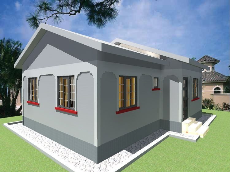Two bedroom House Design in 2020 Two