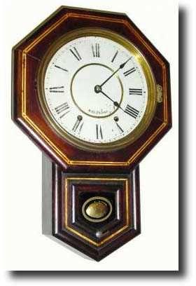 Seth Thomas Octagon 10 Inch Relojes De Pared Relojes Antiguos Reloj
