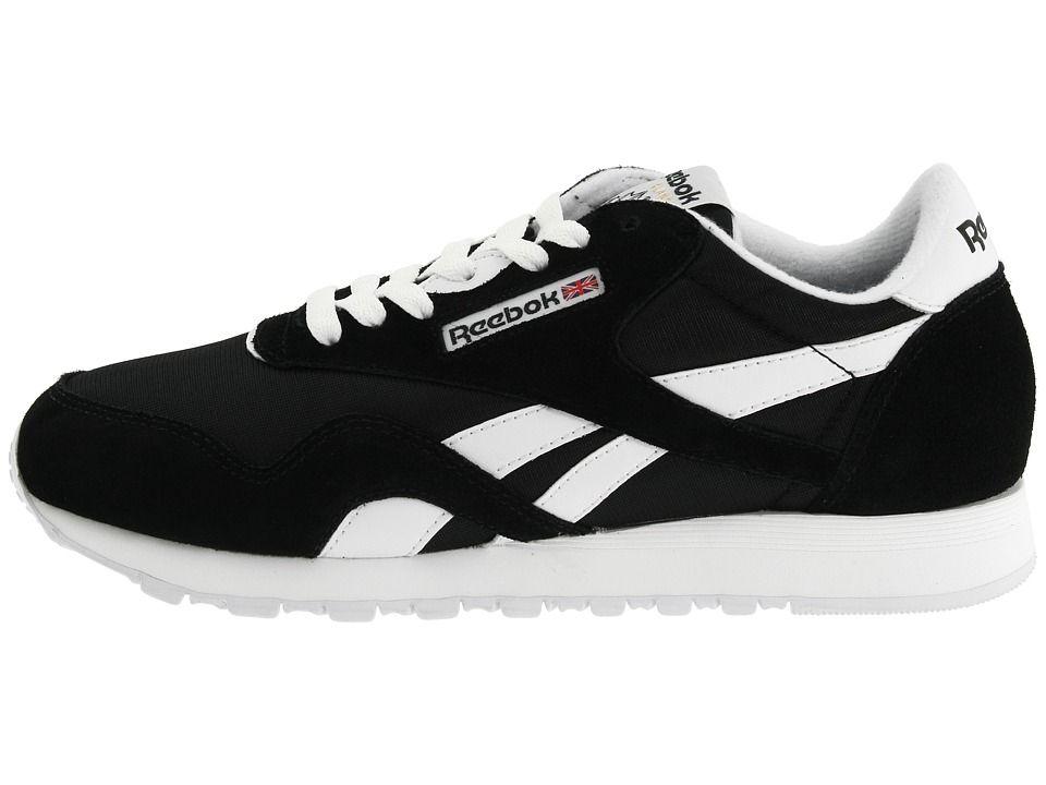 5c054065014 Reebok Lifestyle Classic Nylon W Women s Classic Shoes Black White