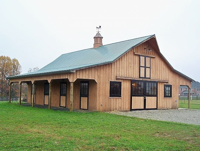 Pole Barn Interior Designs Board And Batten Barn Custom