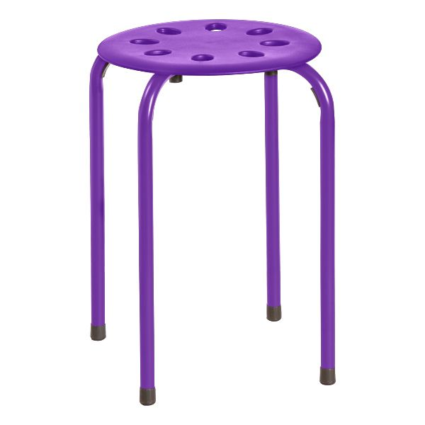 Assorted Color Plastic Stack Stool 2nd Grade Classroom