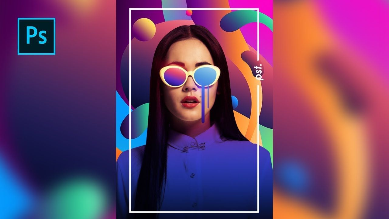 How to Create a Colorful Photo Editing / Magazine Cover