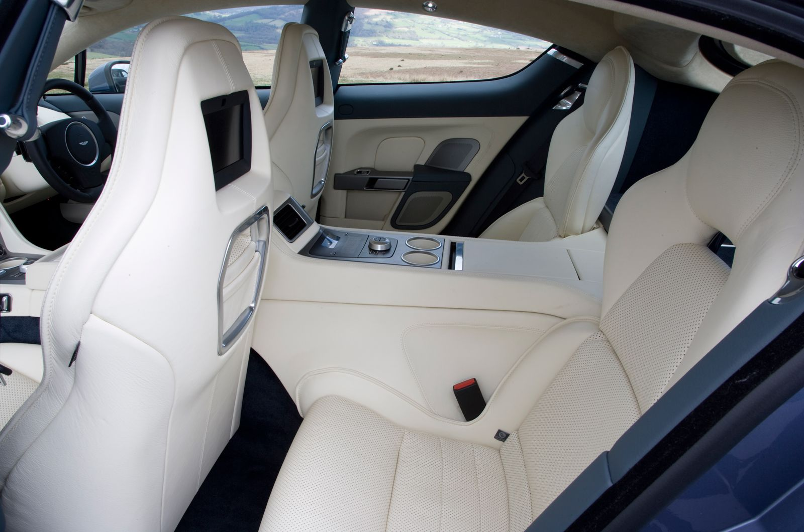 Rear Seats Are Also Comfortable But Space Is Tight Especially For