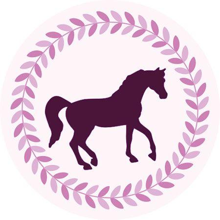 einladungskarte pferd lettering | pferde party, pferde