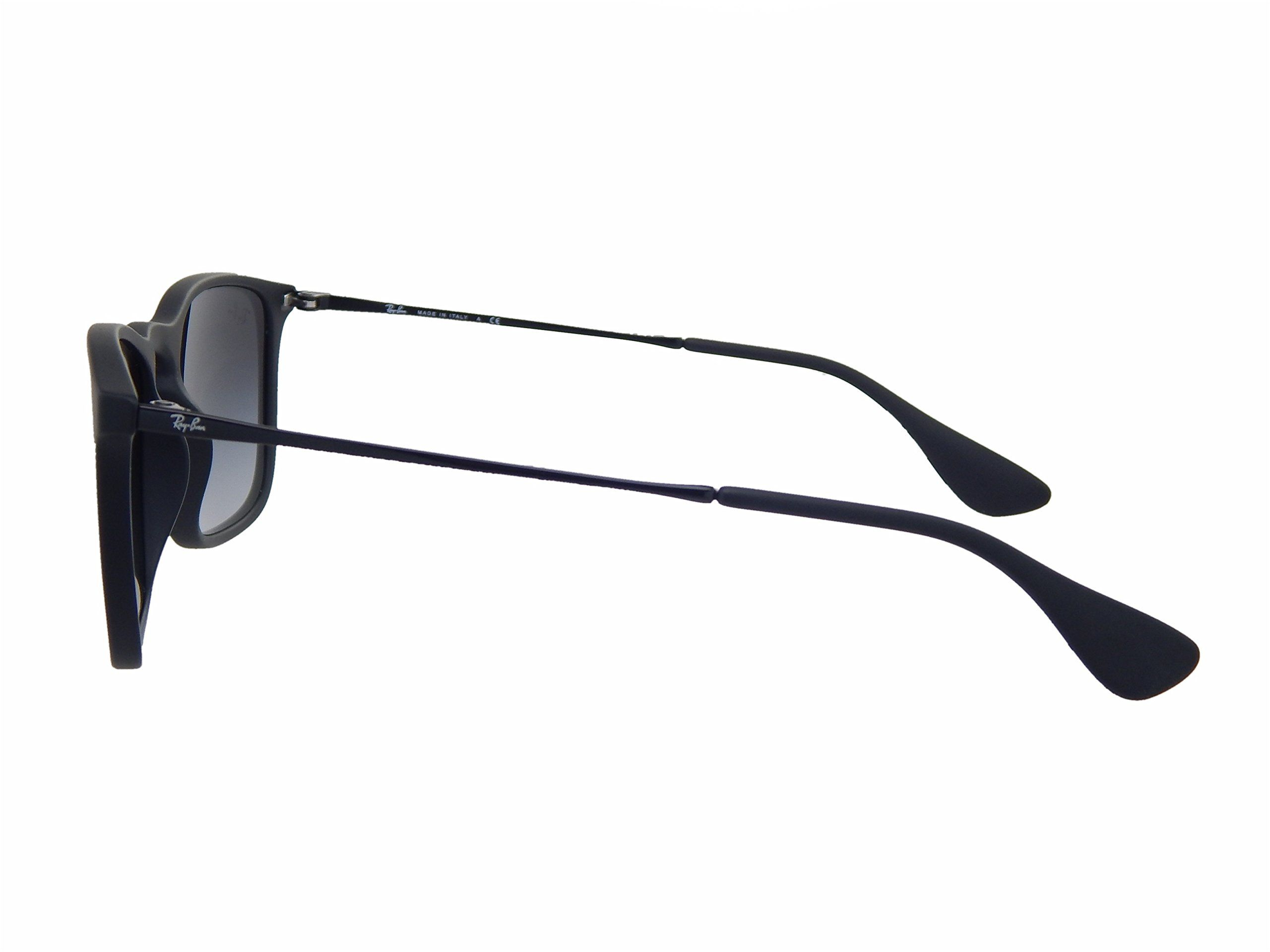 New Ray Ban Chris Rb4187 622 8g Black Grey Gradient 54mm Sunglasses You Can Find More Details By Visiting The Image Sunglasses Ray Bans Square Sunglasses