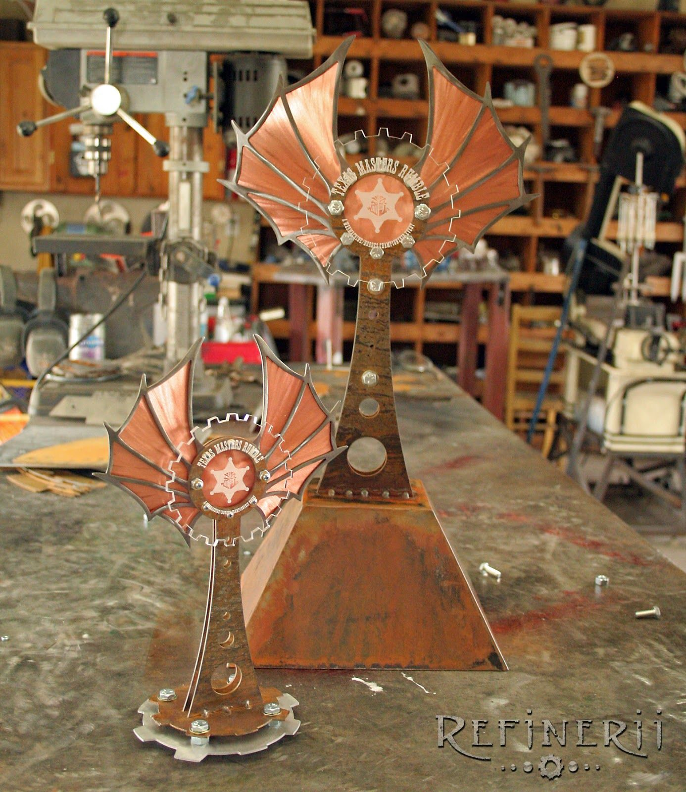 steampunk trophies - Google Search