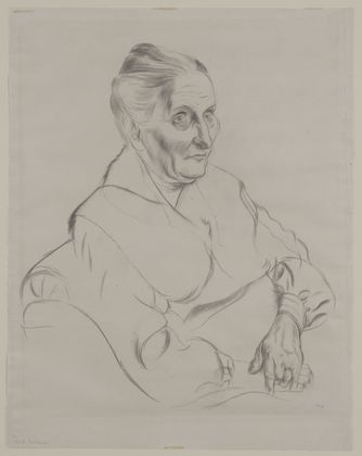 MoMA | The Collection | George Grosz. Anna Peter. (1926-27)