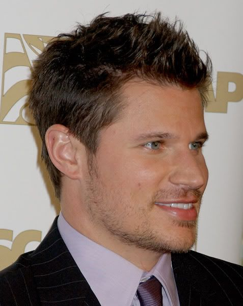 Mens Haircut For Straightthickhair Nick Lachey Short Spiky