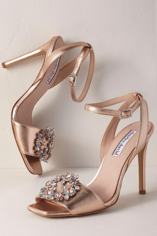 Charles David Vanity Heels From Bhldn Bridal Shoes Wedding