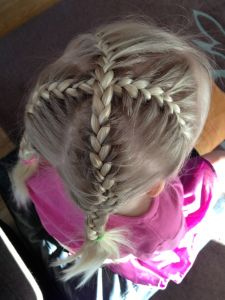 french braid cross