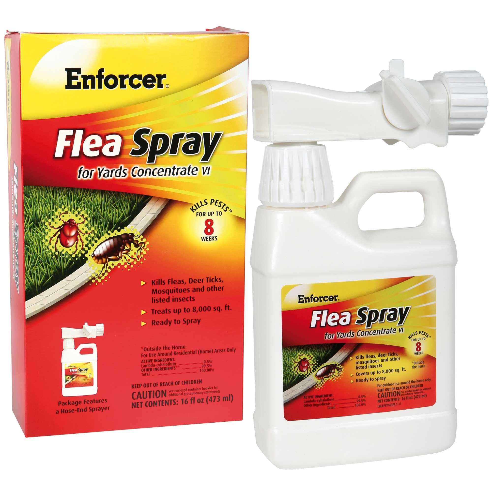 Enforcer Flea Tick Yard Spray Insect Spray Pests Pest Control