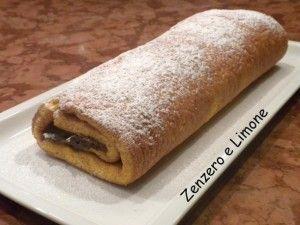 Rotolo Alla Nutella Giallozafferanoit Italian Food Cucina