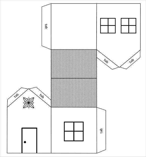 Resultado De Imagem Para Free Download Paper House | Maquetes