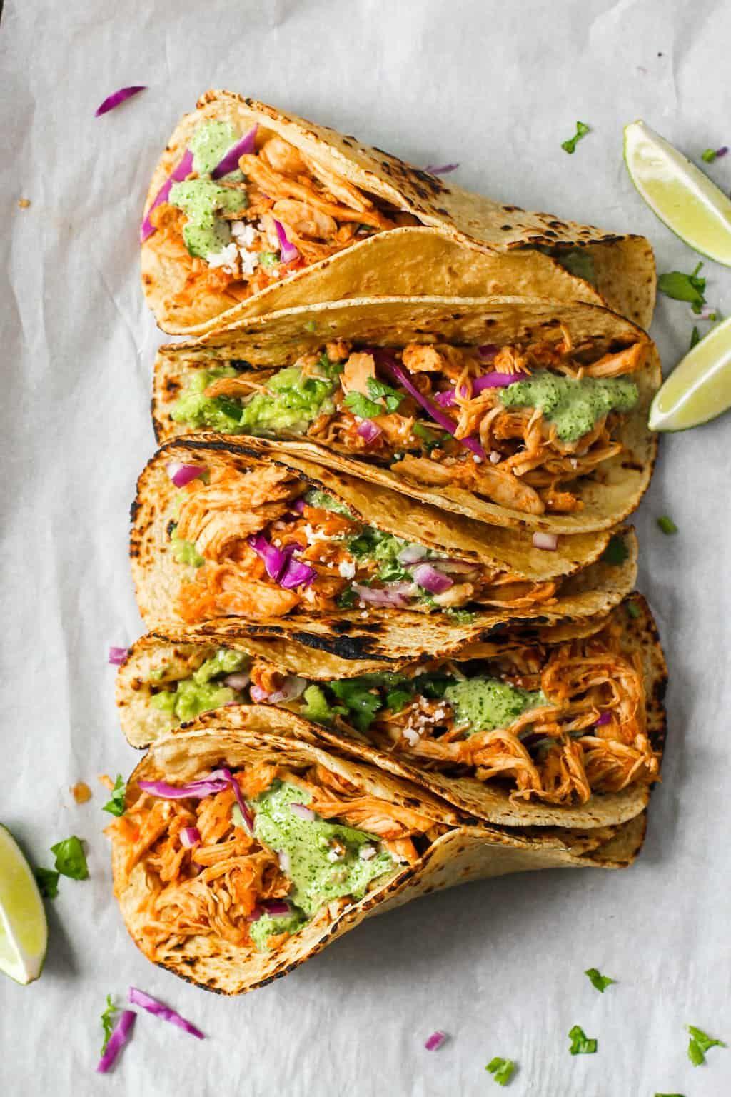 Chicken Tinga - Instant Pot #mexicanrecipeswithchicken