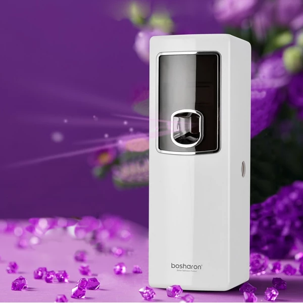 Lcd Smart Air Freshener For Homes Automatic Aerosol Dispenser Hotel Bathroom Toilet Fragrance Perfume Sprayer Machine Wall Mount Home Air Fresheners Air Freshener Smart Air