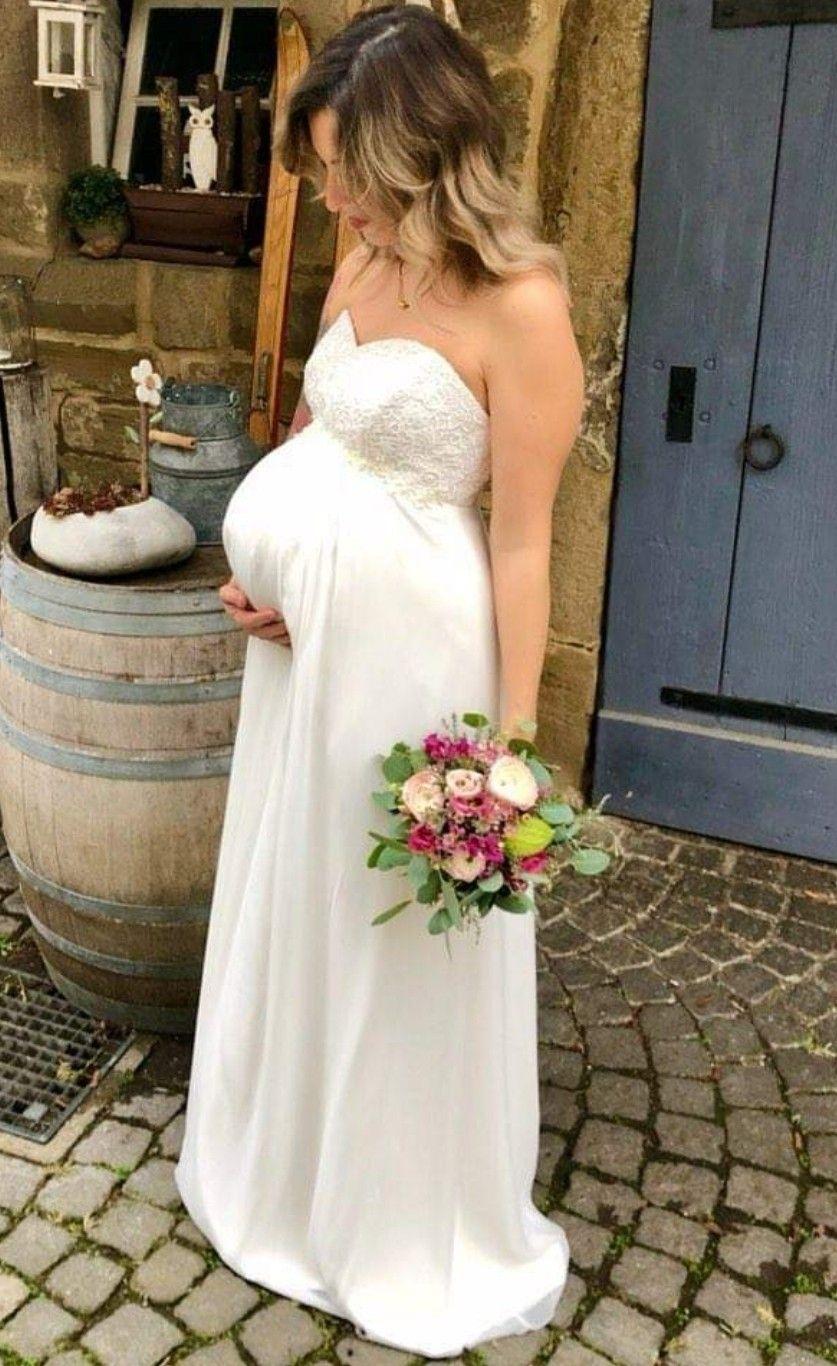 Brudekjolen til gravide i 2020   Bryllupskjole, Kjoler