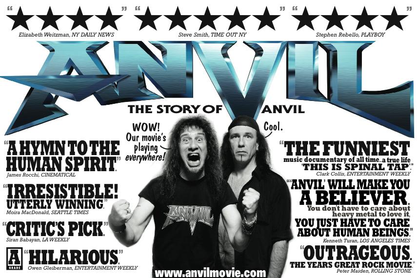 Anvil: The Story of Anvil | Music documentaries, We movie, Documentaries