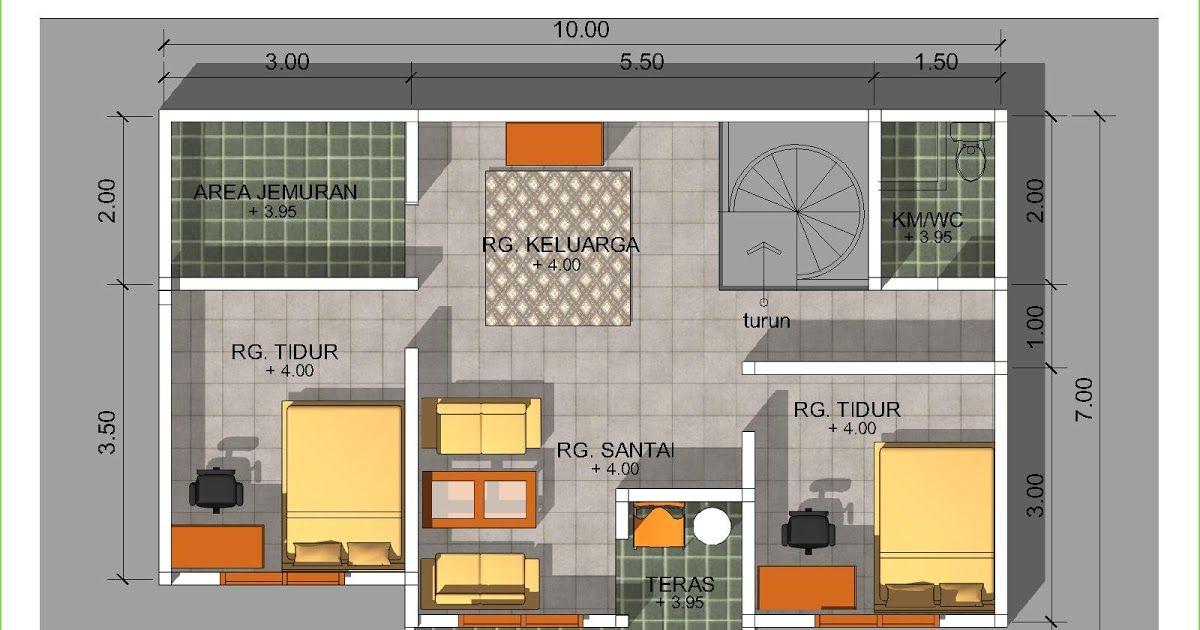 Desain Rumah Minimalis Ukuran 8x12 Cek Bahan Bangunan
