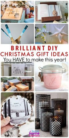 DIY Christmas gifts to make yourself and give to family and friends.   I love that so many of these look store bought.  #christmasgiftideas #DIYChristmasgifts