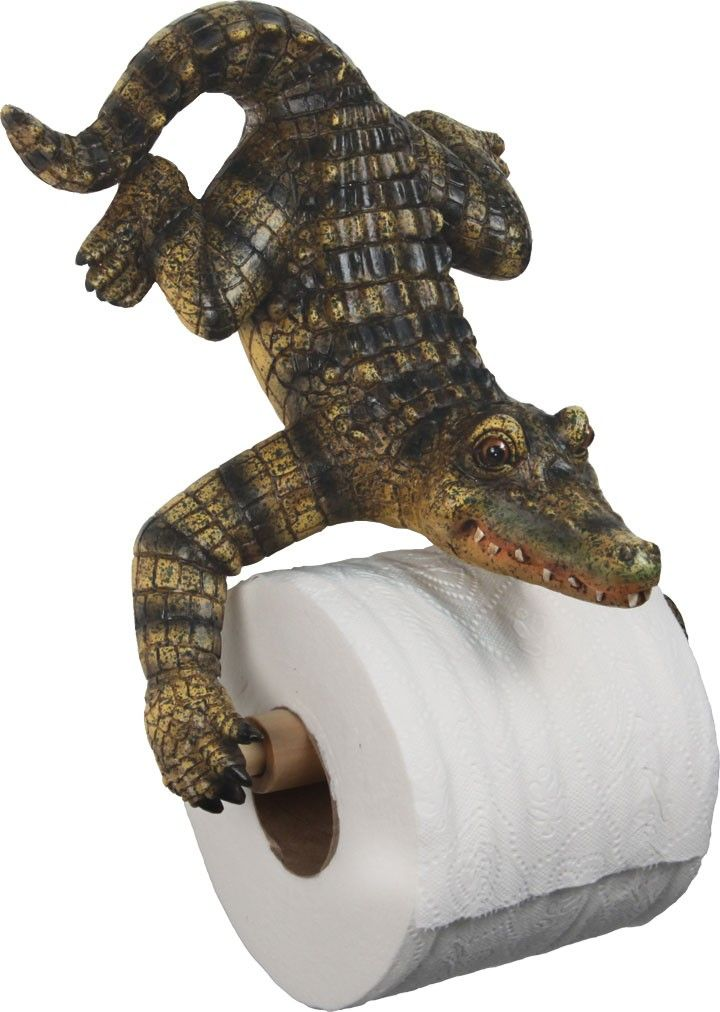$20 Alligator Bathroom Decor  Strangest Thing Iu0027ve EVER Seen For A Bathroom.