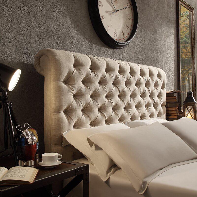 Neher Upholstered Panel Headboard Upholstered Panels Panel Headboard Bedroom Decor For Small Rooms