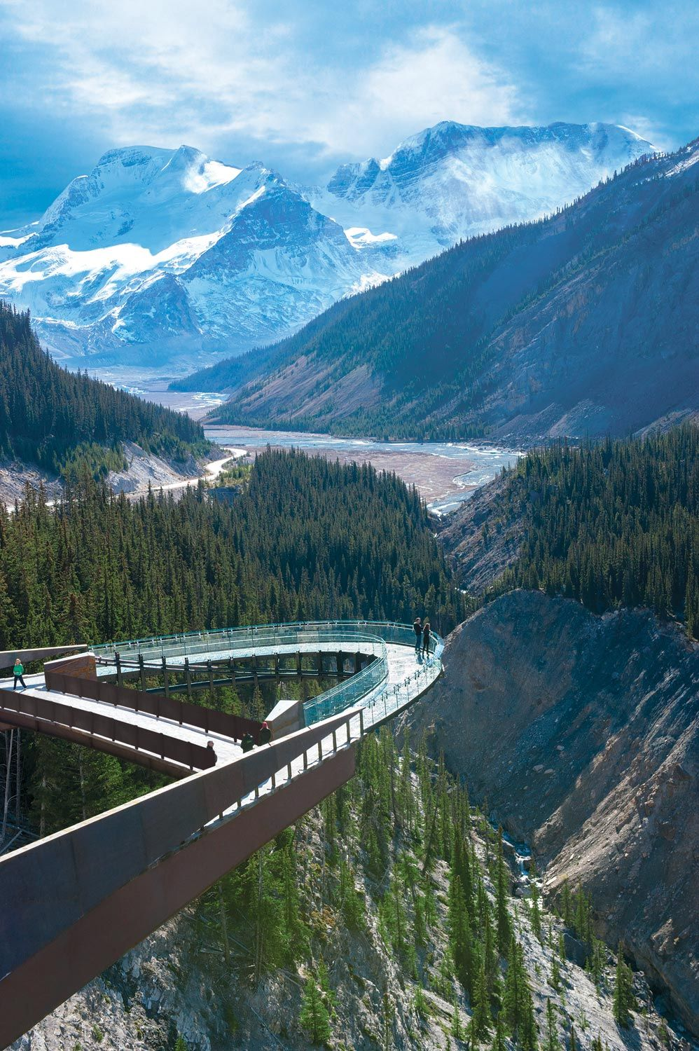 Glacier Skywalk In Jasper National Park Banff Jasper Collection 2 5 Hours North Of Canmore Might Be Possible Migh Canada Travel Places To Travel Travel