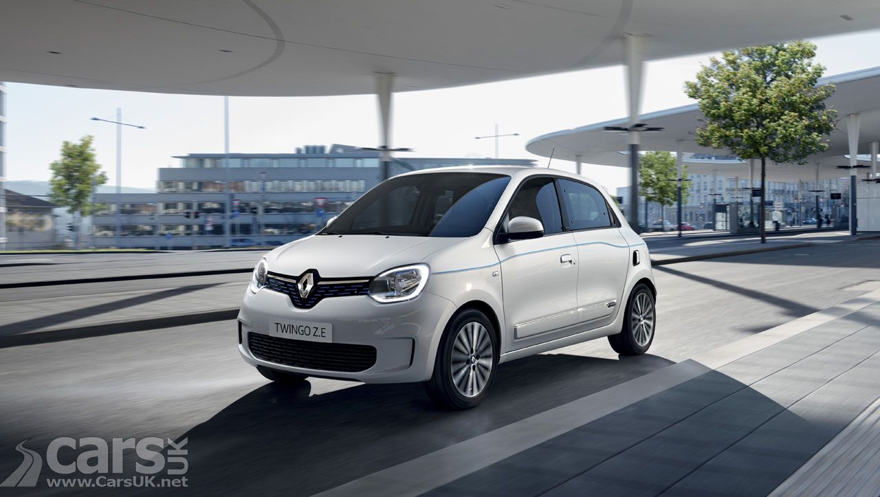 Renault Twingo Ze The Electric Twingo Revealed But It S Not