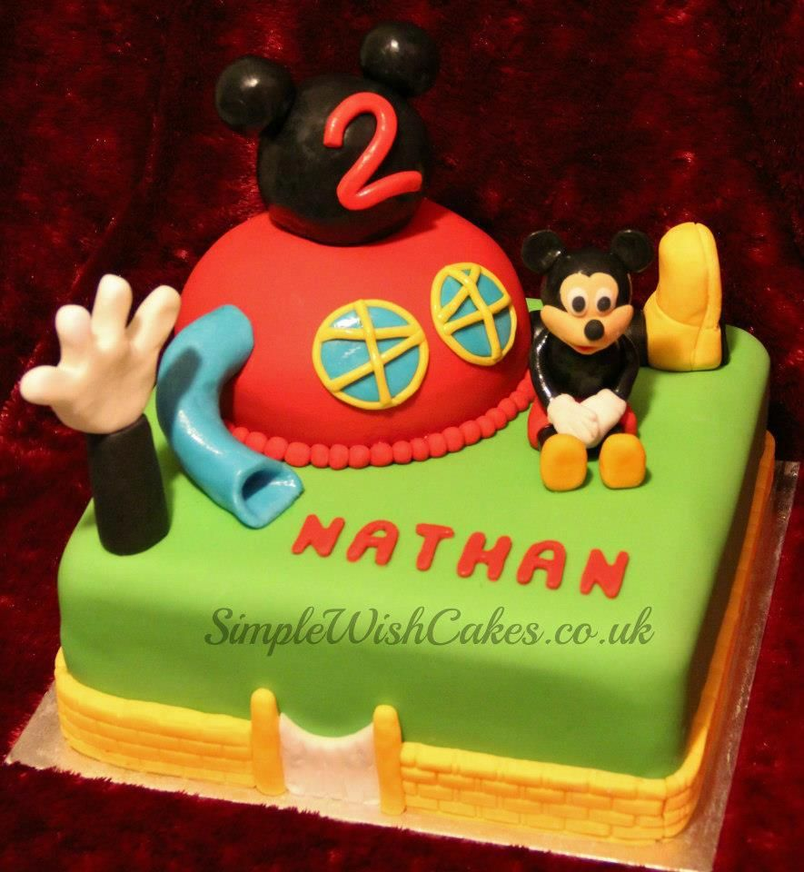 Mickey Mouse Clubhouse Birthday Cake John Reeds 1st Birthday