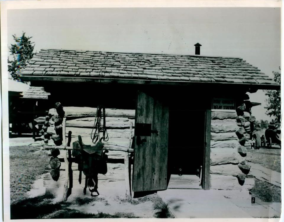 Pumpkin Seed Creek Relay Station History Pony Express Cabin ...
