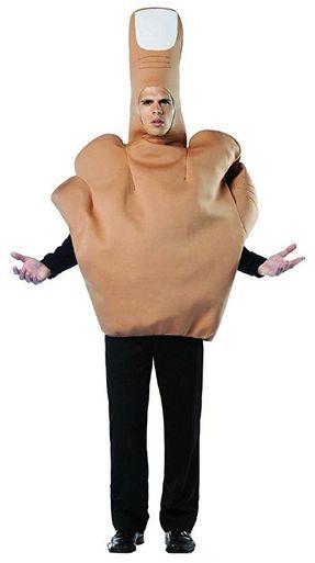 Rasta Imposta Middle Finger Flipping The Bird Adult Mens Halloween Costume 6133  sc 1 st  Pinterest & Rasta Imposta Middle Finger Flipping The Bird Adult Mens Halloween ...