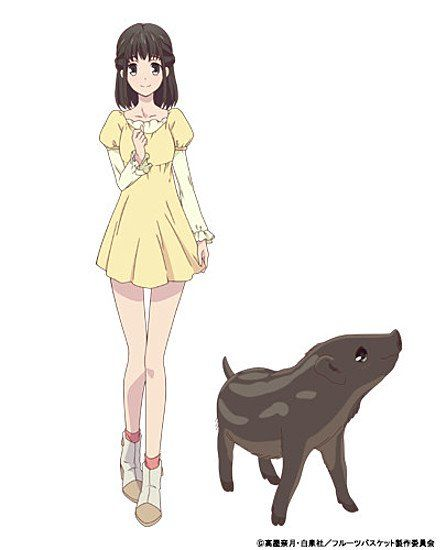 New Fruits Basket Anime Reveals 3 More Character Designs (Updated)