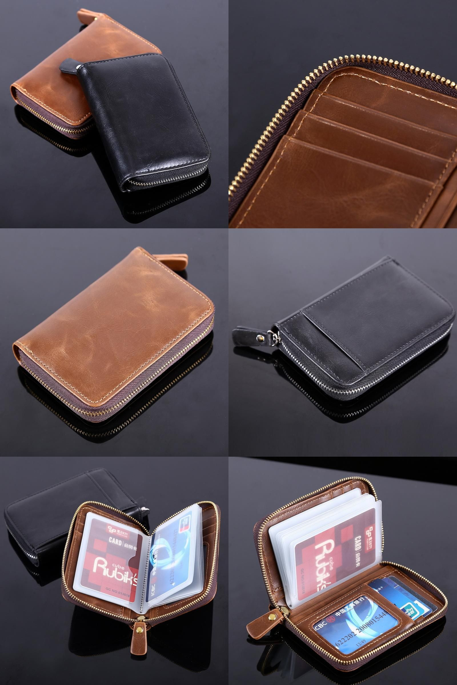 Visit to Buy] New Fashion Business Credit Card Holder Bags For Men ...