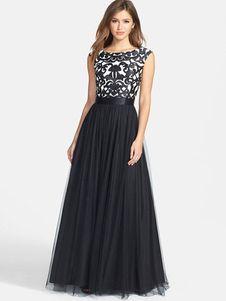 Imagenes de vestidos largos sin escote