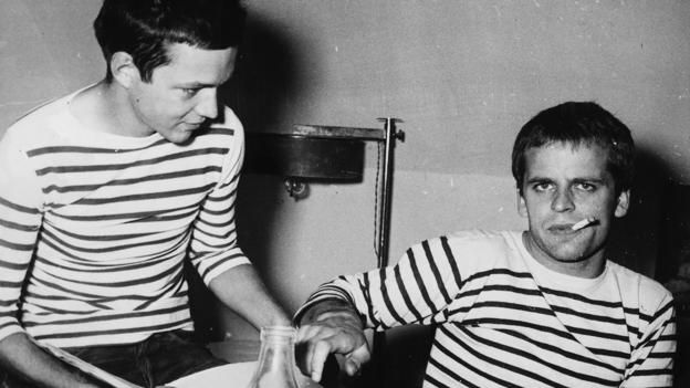 The striped jersey was the official undergarment of the French Navy (Credit: Credit: Getty Images)