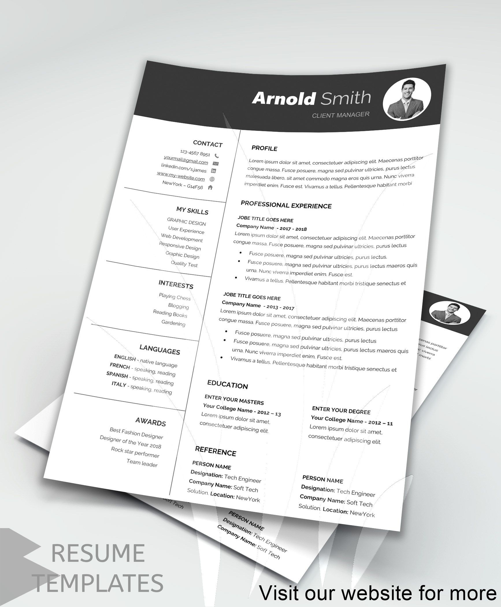resume examples layout Best in 2020 Downloadable resume