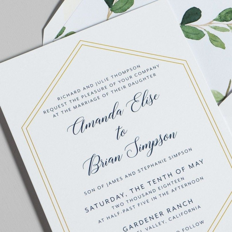 Addressing Wedding Invitations Wedding Invitation Wording Examples How To Write Wedding Invitations