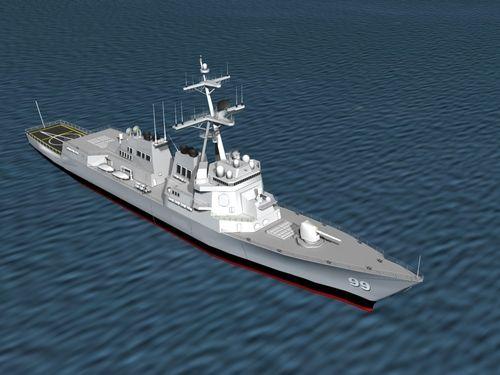 Burke Class Destroyer DDG 99 USS Farragut, $129.00