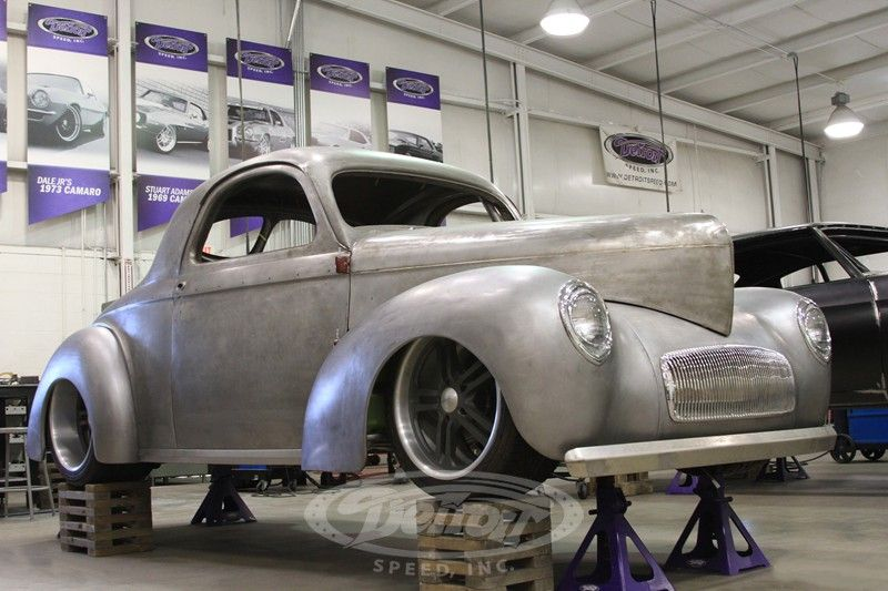 Detroit Speed Inc Projects Mike Janie S 1941 Willys Willys Classic Cars Chevy Ssr
