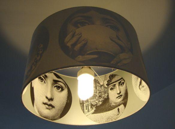 Piero Fornasetti - Tema e Variazoni - Theme & Variations - Lina Cavalieri - lampshade by LoveFrankie.