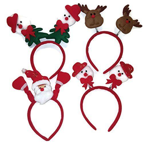 Set of 4 Christmas Friends Felt Headbands Bobble Santa, R... https://www.amazon.com/dp/B01MROP8W6/ref=cm_sw_r_pi_dp_x_WKltyb67NFEKM
