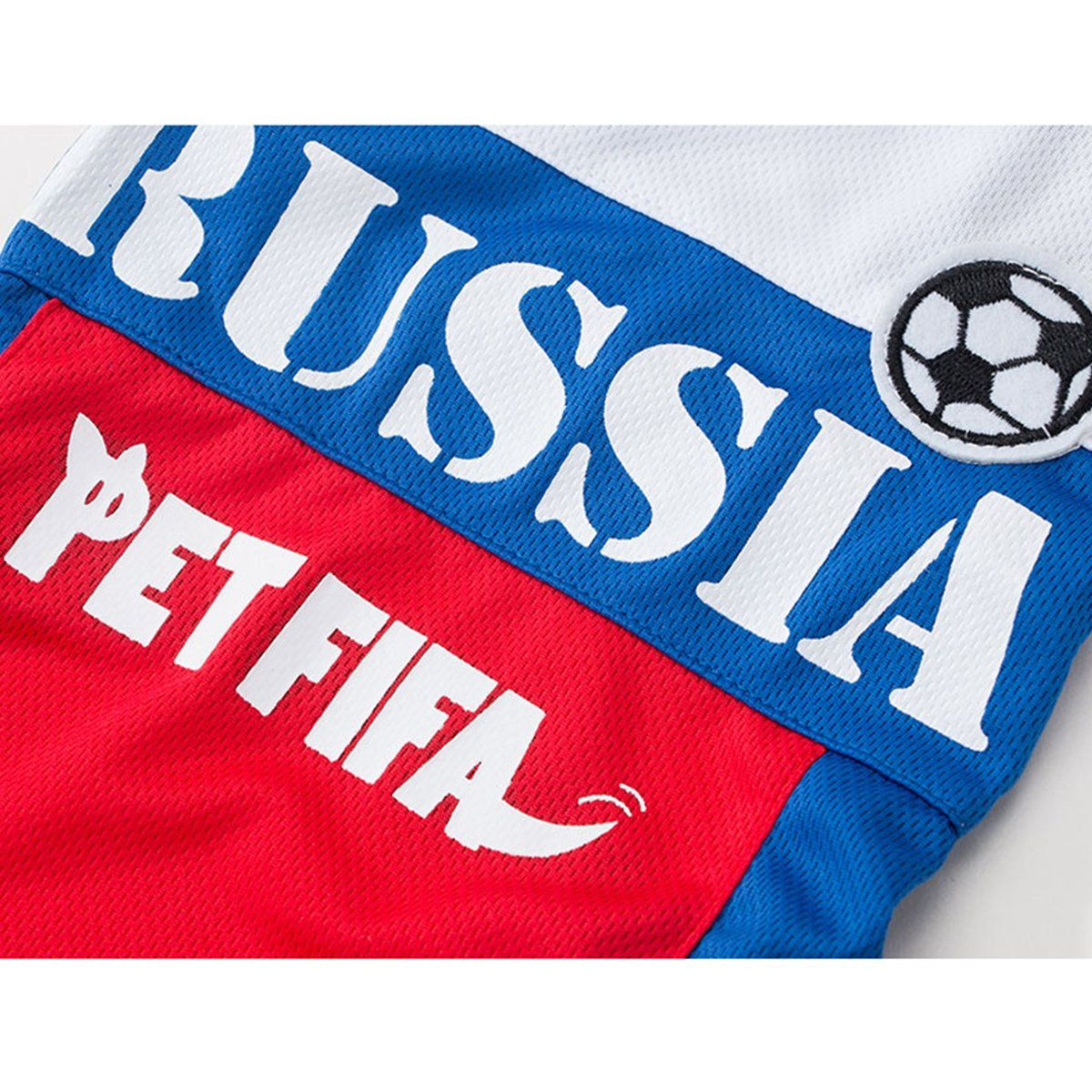 000388f89 Besmall Dog Tshirt Costume Sport Jersey Pet National Flag Football Soccer  World Cup FIFA Russia XL    Want to know a lot more