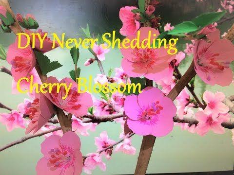 Diy cherry blossom paper cherry blossom diy paper flower diy cherry blossom paper cherry blossom diy paper flower tutorial flor de cerezo de papel youtube mightylinksfo