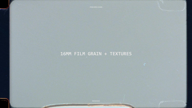 16mm Film Grain Textures Ezra Cohen Film Grain Texture Grain Texture Film Texture